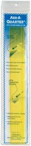 "CM Designs Ruler 12"" Transparent Yellow"