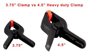 Cheaplights - Heavy Duty Muslin Clamps 4 1/2 inch 6 Pack