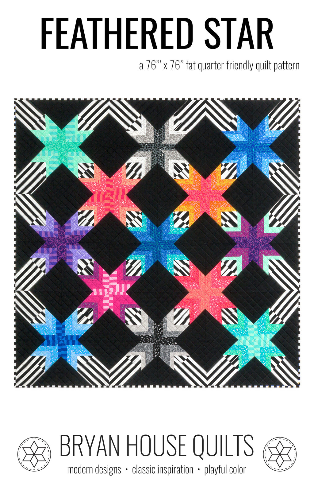 Feathered Star PDF Pattern