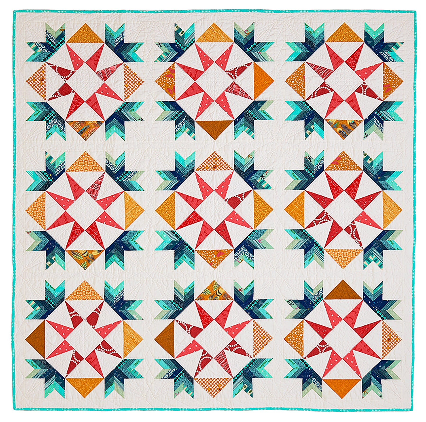 Star Bright Quilt by Rebecca Bryan