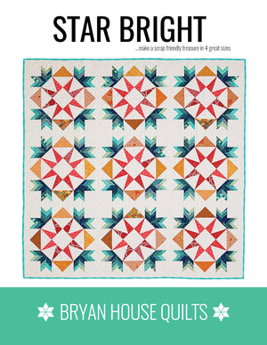 Star Bright Quilt Pattern Cover