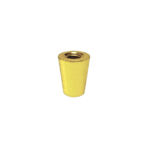 Tap Handle Ferrule, Style 44, Gold Plated Finish