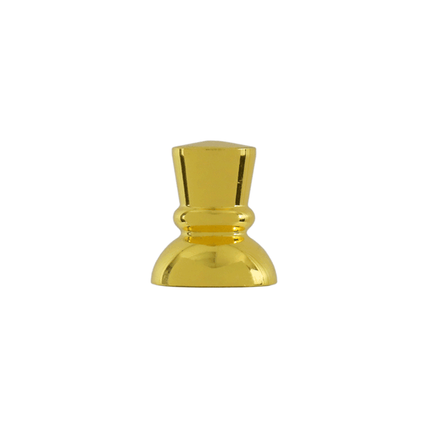 Tap Handle Finial, Style 204, Gold Plated Finish