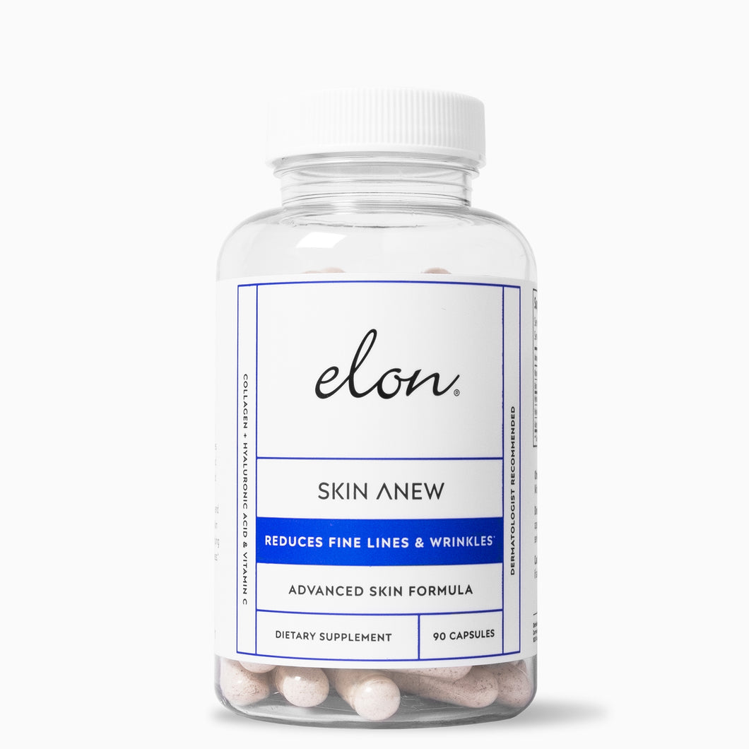 Elon Essentials - Skin Anew Supplement - Reduces fine lines and wrinkles