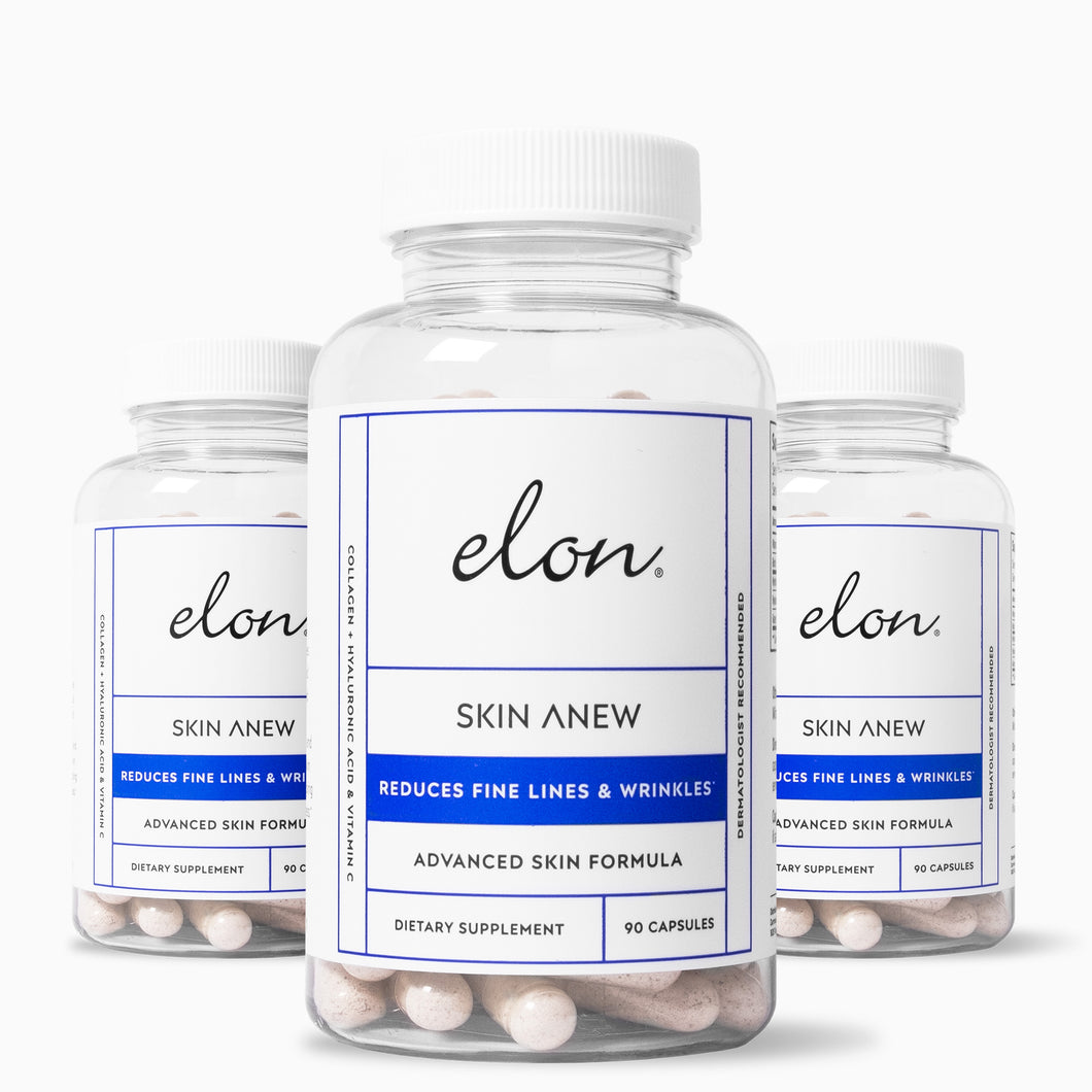 Elon Skin Anew For Healthy Skin (3-Pack)
