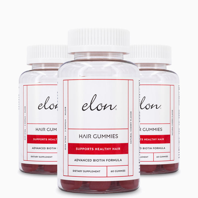 Elon Hair Gummies (3-Pack): Autoship-Save 15%