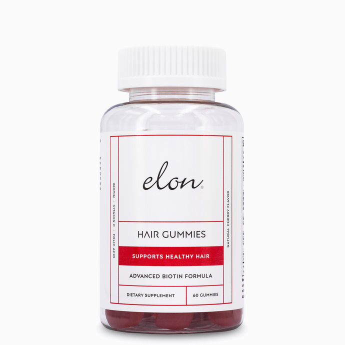 Elon Hair Gummies For Healthier & Stronger Hair