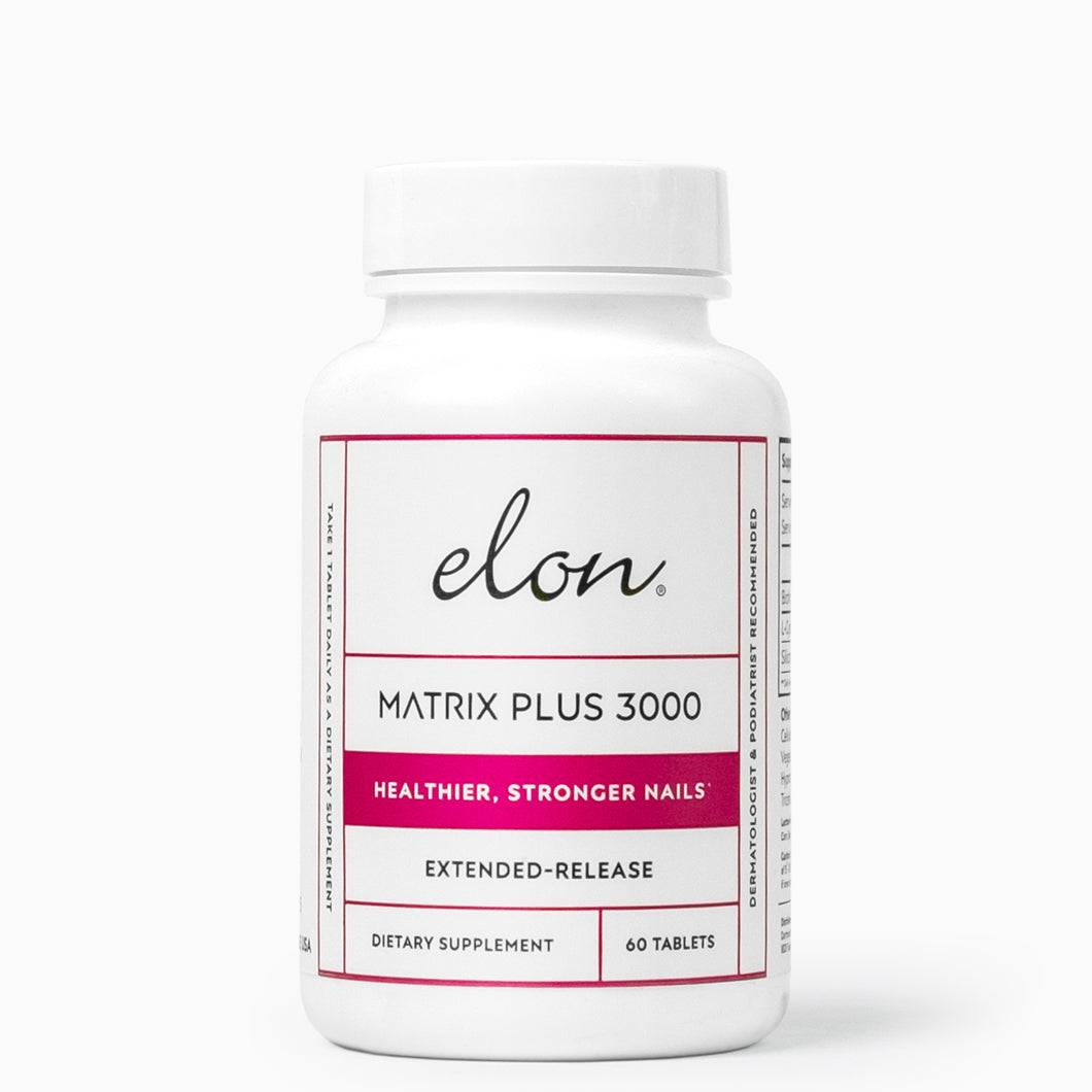 Elon Nail Care — Matrix Plus 3000 Multivitamins for Healthier, Stronger Nails