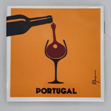 "Load image into Gallery viewer, ""Vinho & Fado"", Portuguese Tile"