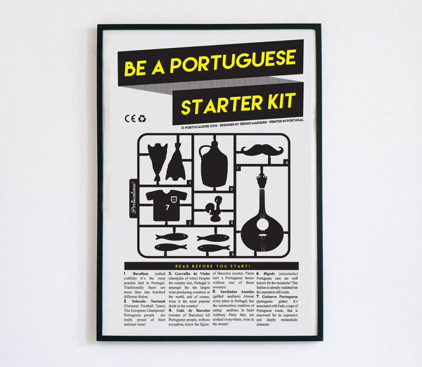 Be a Portuguese Starter Kit, Poster