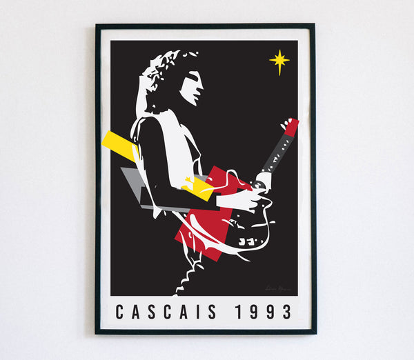 Brian May - Cascais 1993, Poster