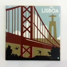 Load image into Gallery viewer, Ponte 25 de Abril, Lisboa Azulejo, Portuguese Tile