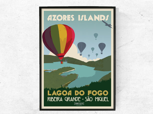 Lagoa do Fogo, Azores Originals, Poster