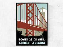 Load image into Gallery viewer, Lisboa, Ponte 25 de Abril, Poster