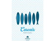 Load image into Gallery viewer, Cascais Surf & Sardines Poster
