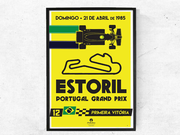 Estoril 1985, Poster