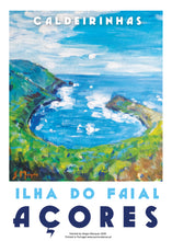 Load image into Gallery viewer, Ilha do Faial, Azores, Poster