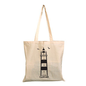 Cascais Lighthouse Tote Bag