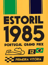 Load image into Gallery viewer, Estoril Senna 1985