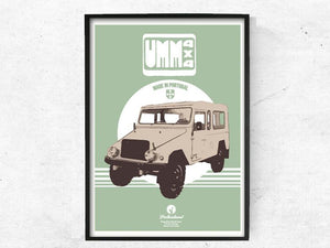 UMM 4x4 Cournil Poster