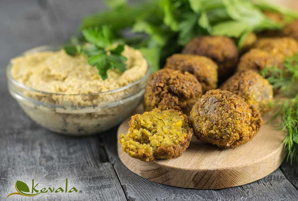 THE BEST HOMEMADE FALAFELS