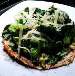 Easy Peasy Green Tostadas