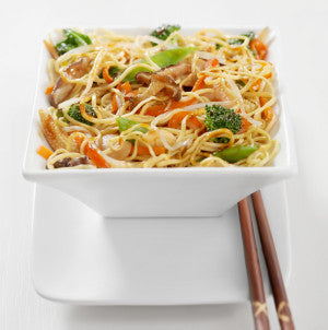 Spicy Almond Noodles