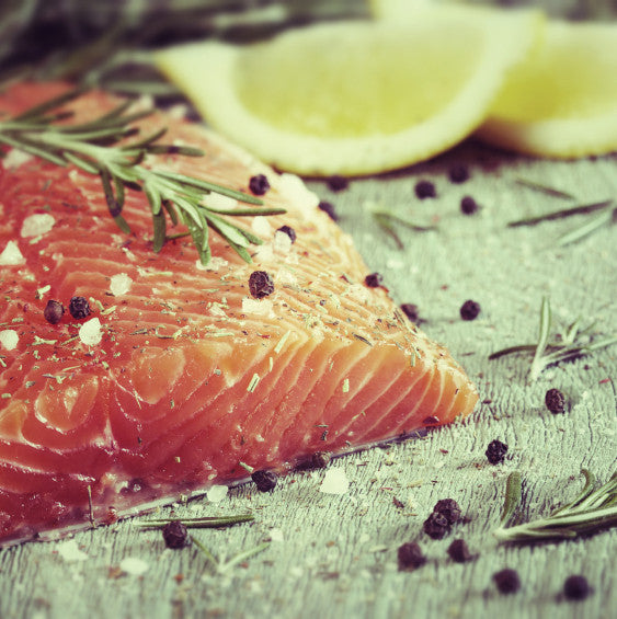 Mustard-Ginger Marinated Salmon