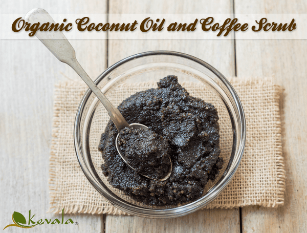 Organic coconut oil scrub