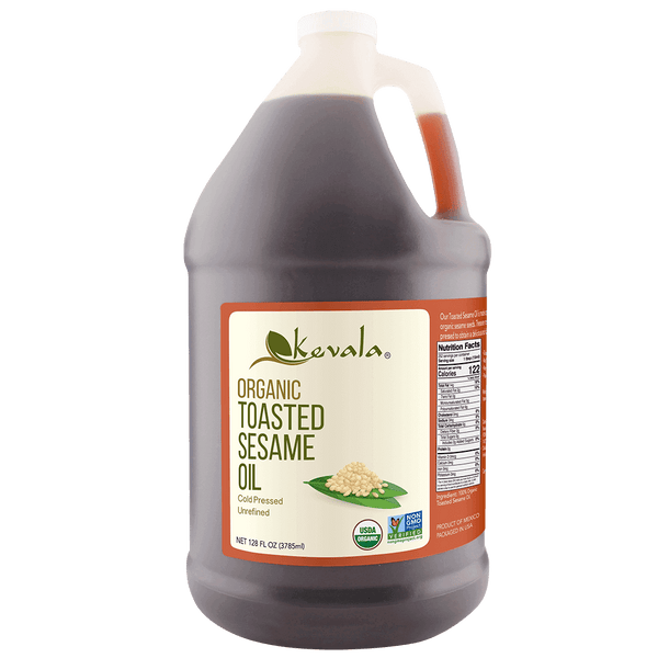 Organic Toasted Sesame Oil 128 fl oz  (1 gal)