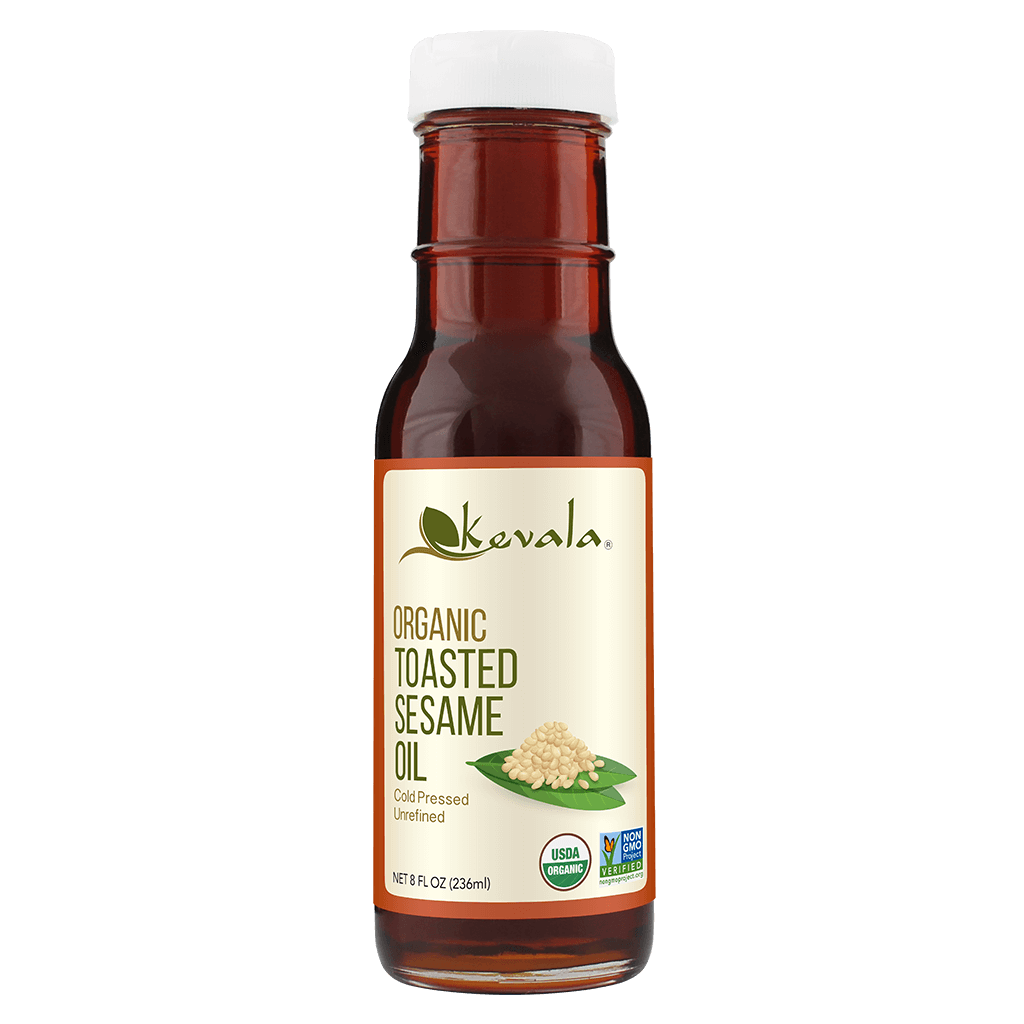 Organic Toasted Sesame Oil 8 fl oz