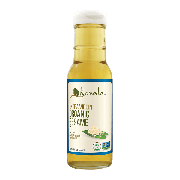 Organic Extra Virgin Sesame Oil 8 fl oz