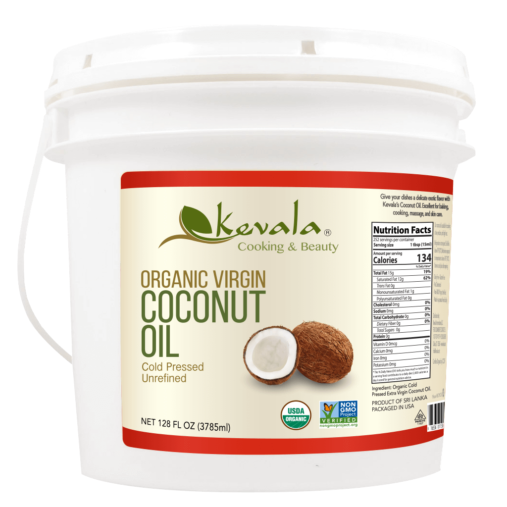 Organic Coconut Oil 8 lb