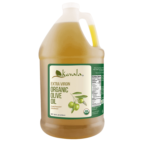 Extra Virgin Organic Olive Oil 128 fl oz (1 gal)