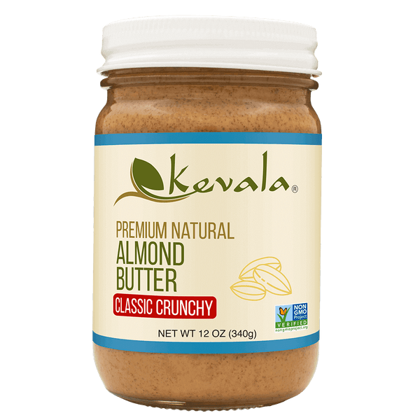 Almond Butter Crunchy 12 oz
