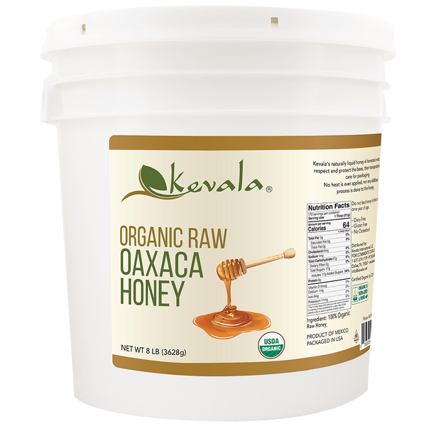 Organic Raw Oaxaca Honey 8 lb