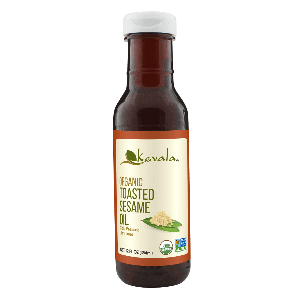 Organic Toasted Sesame Oil 12 fl oz