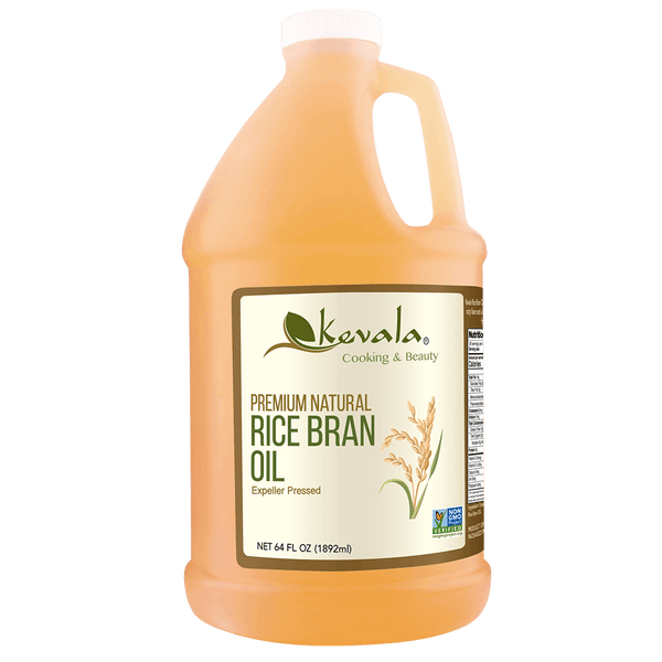 Rice Bran Oil 64 fl oz (1/2 gal)