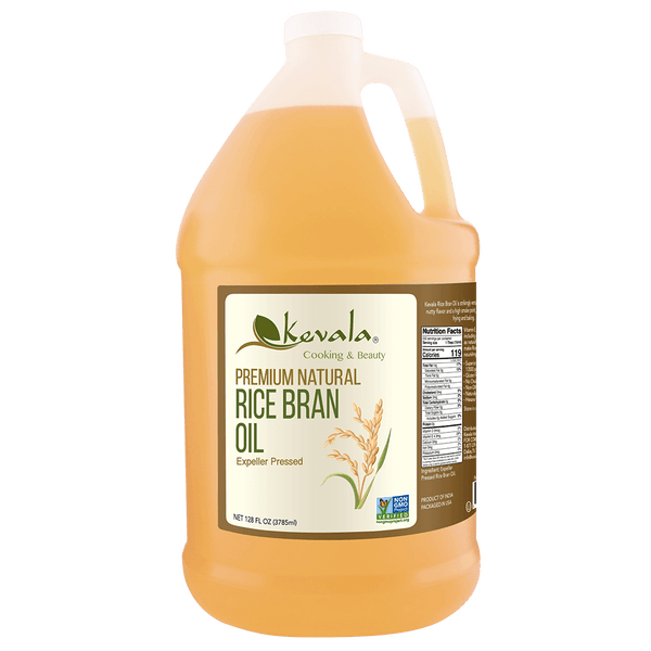 Rice Bran Oil 128 fl oz (1 gal)