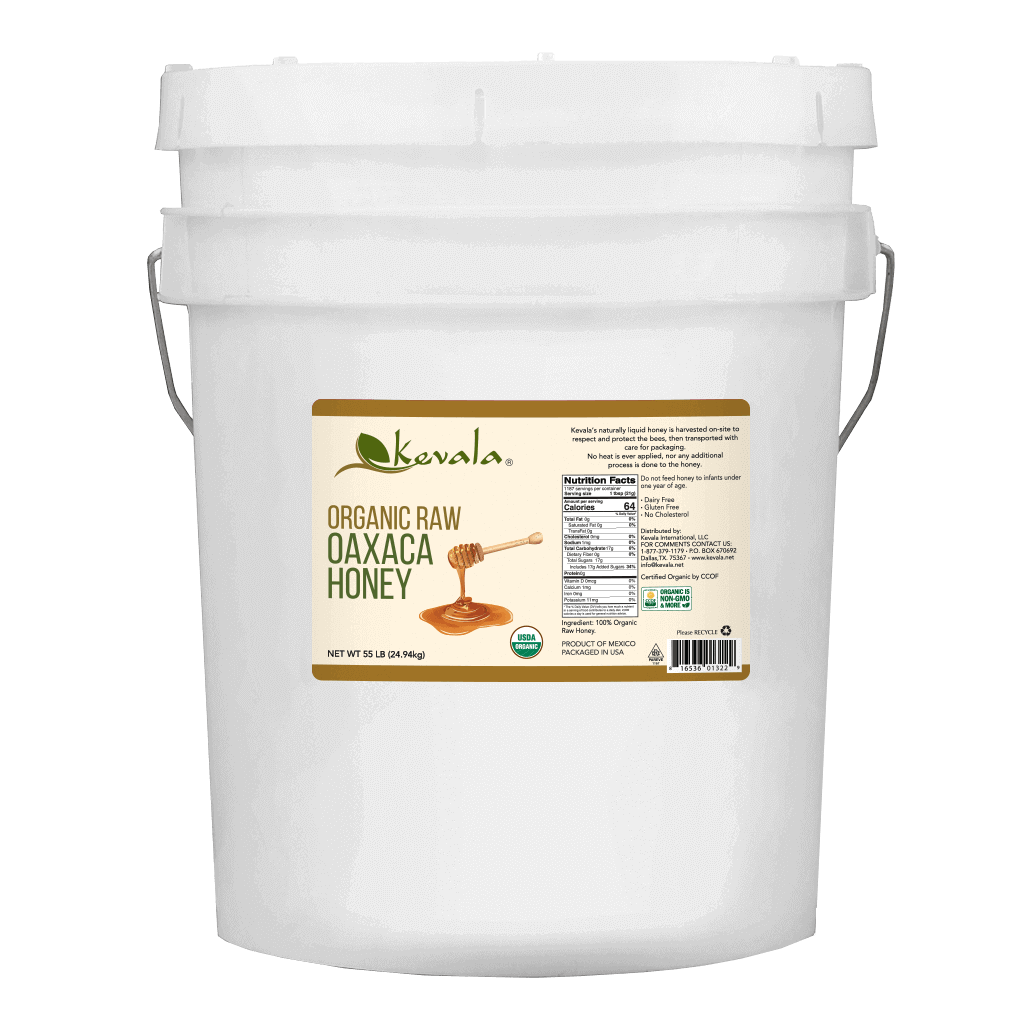 Organic Raw Oaxaca Honey 55 lb