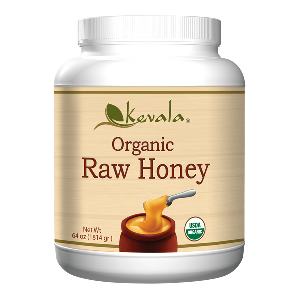 Organic Raw Honey (Spreadable) 4 lb