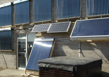 Supplemental Solar Water Heat