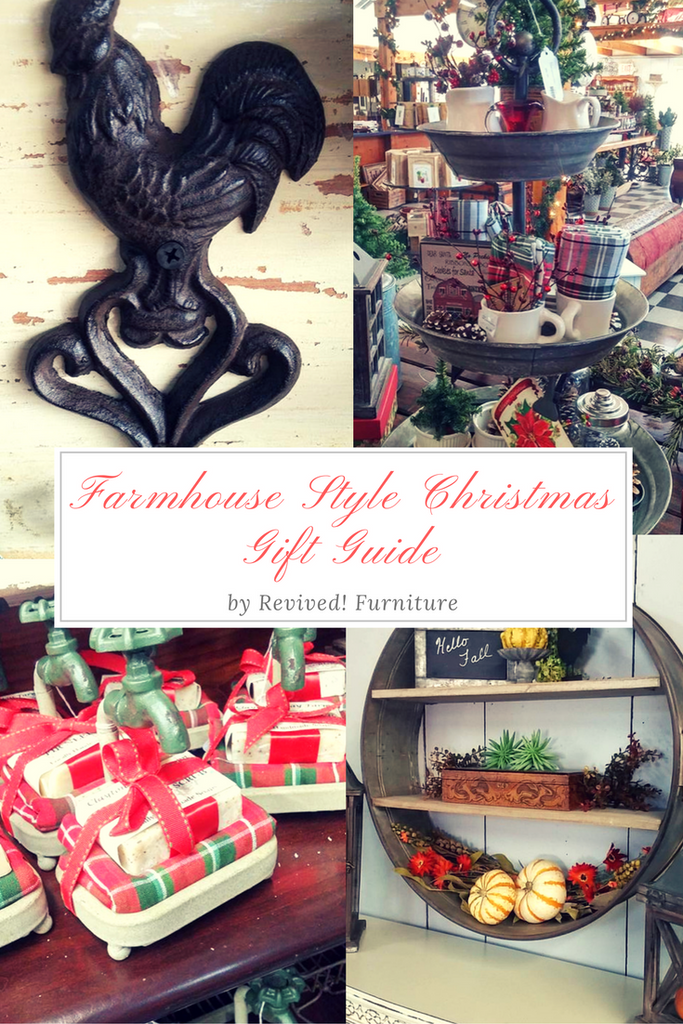 Farmhouse Style Gift Guide by Revived! Furniture & Home Decor