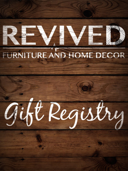 Create a Free Gift Registry at Revived
