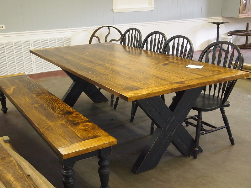 Rockingham Park Reclaimed Wood Table