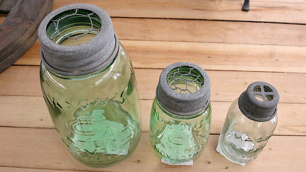 REVIVED Mason Jar Frogs
