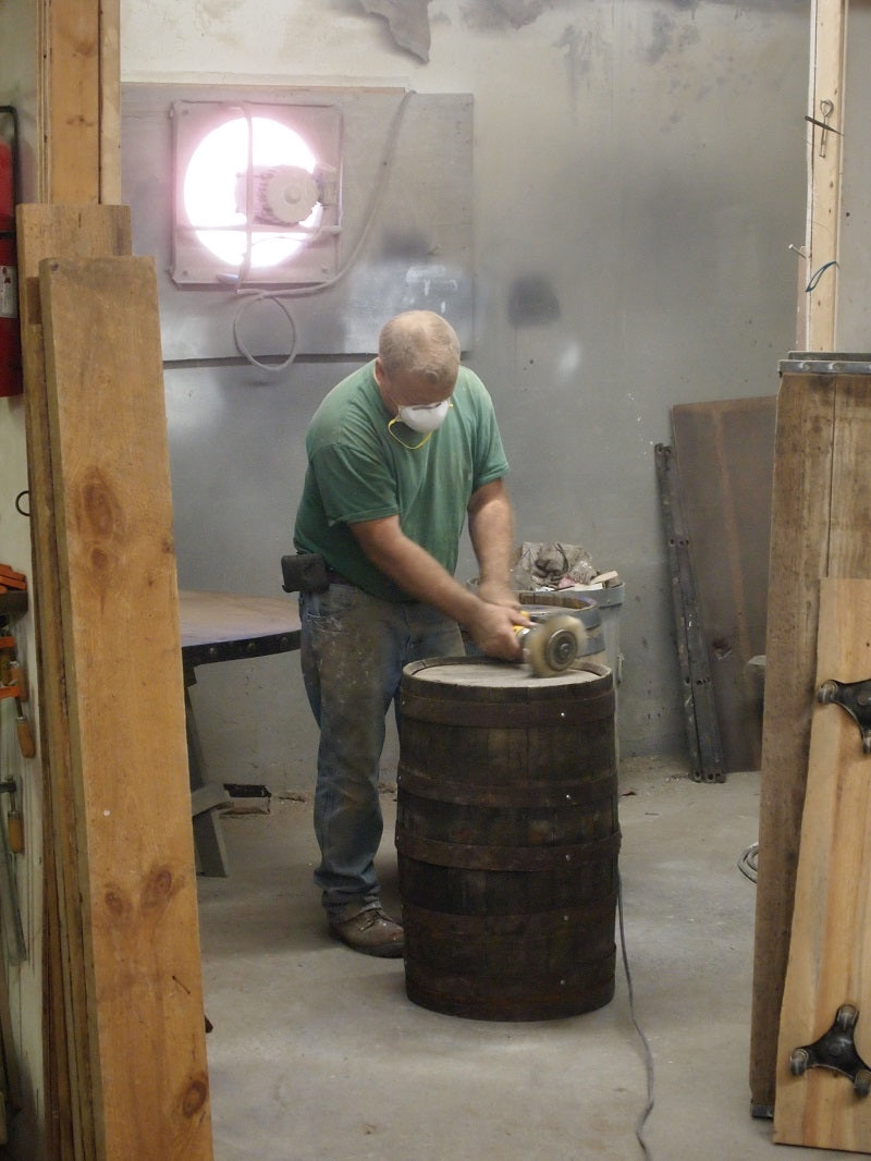 Working on the Barrel