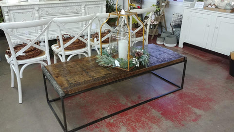 Repurposed Coffee Table