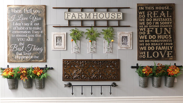 Farmhouse Style Gallery Wall