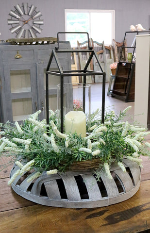 Tobacco Basket Centerpiece